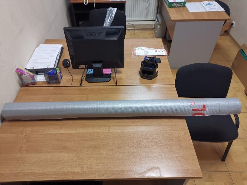 Подкровельная диффузионная плёнка гидроизоляционная Ютафол Д Сильвер Лайт